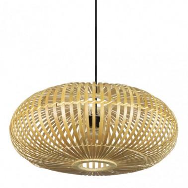 Lámpara de Techo Bambú Fargesia Natural Ø 60  Lámparas de techo