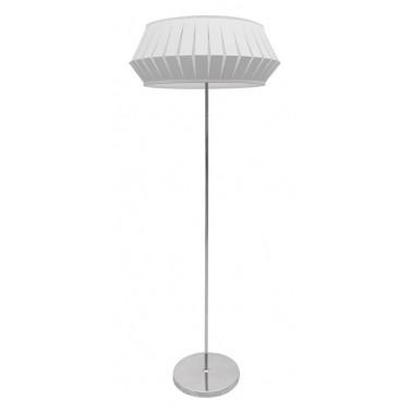 Lámpara de Pie Blanca Serie Espiral  Lámparas de pie