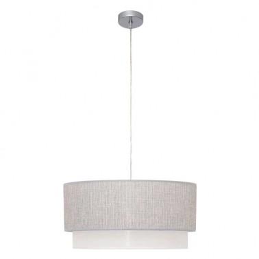 Lámpara de Techo Gris y Blanca Kenya  Lámparas de techo