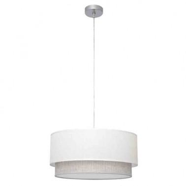 Lámpara de Techo Blanca y Gris Kenya  Lámparas de techo