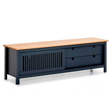 Mueble TV Moderno Gris Antracita Serie Larisa  Mesas de centro y auxiliares