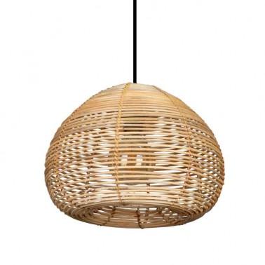 Lámpara de Techo Ratán Modelo Domo Serie Dracena  Lámparas de techo