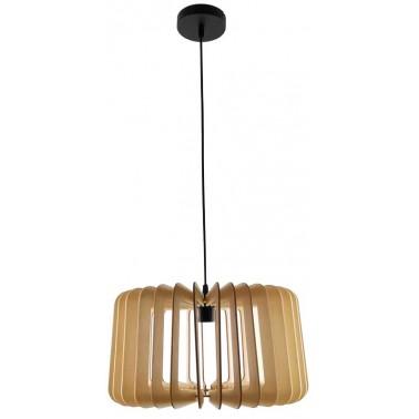 Lámpara de Techo Madera Natural Serie Ébano  Lámparas de techo