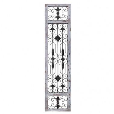 Panel Decorativo Puerta Antigua Gris Rozado  Paneles Decorativos