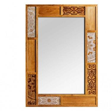 Espejo de Pared Marco de Madera Colección Magreb  Espejos