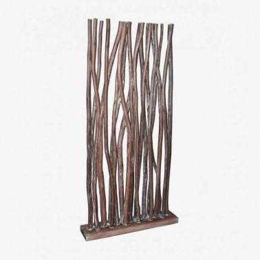 Biombo Separador Árbol Natur Brown  Decoración