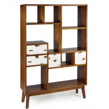 Librería Nórdic con cajones Egil.  Muebles Comedor y Salón