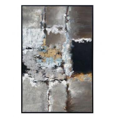 Cuadro al óleo Berna abstracto tormenta  Cuadros