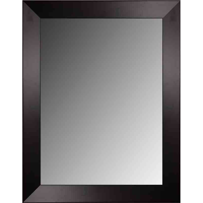 Espejo de Pared con Marco Color Wengué  Espejos