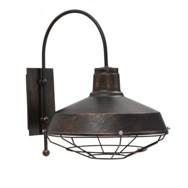 Lámpara de Pared Estilo Industrial Modelo Bronx  Lámparas de pared y apliques