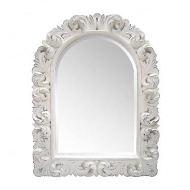 Espejo Medio Arco Blanco  Espejos